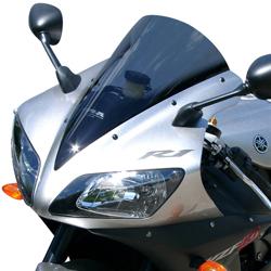 MRA Yamaha YZFR1 2002-2003 Double-Bubble/Racing Motorcycle Screen