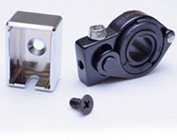 BLACK Healtech Gear Indicator /& Shift Light Pro Handlebar Mount