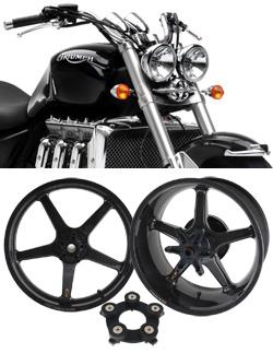Bst Carbon Fibre Wheels For Triumph Rocket Iii
