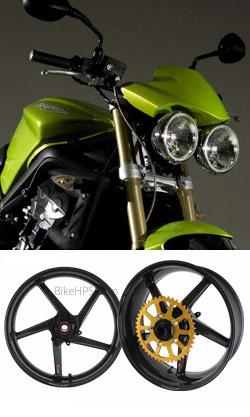 Bst Carbon Fibre Wheels For Triumph Street Triple Street Triple R