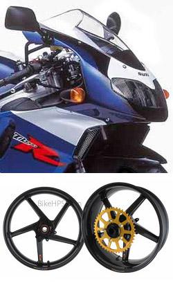 Bst Carbon Fibre Wheels For Suzuki Tl1000r