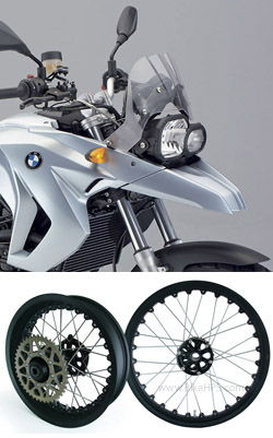 Kineo Wire Spoked Wheels For Bmw F650gs 2008 2012