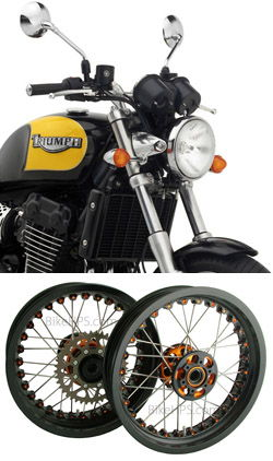 Kineo Wire Spoked Wheels For Triumph Thunderbird Sport 900 1998 2004