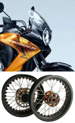 Kineo Wire Spoked Wheels For Honda Xl700v Transalp 2007 2013