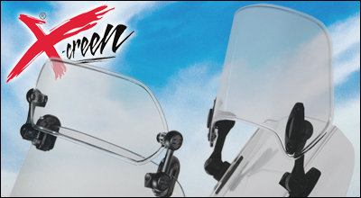 MRA X-creen Universal Air Deflector Flip Spoiler