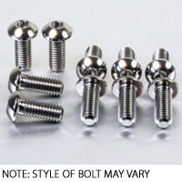 Screen Bolt Kit 2003-09 stainless steel,4 bolts for Motorcycle Kawasaki Z1000