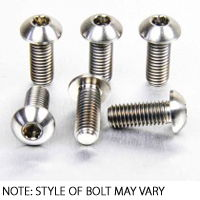 Stainless Front Disc Rotor Mount Bolts Screws Ducati 750SS 91-02