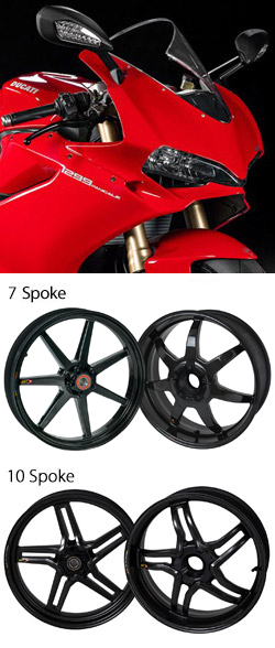 Bst Carbon Fibre Wheels For Ducati 1299 Panigale 2015 Onwards