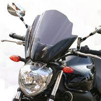 MRA Yamaha FZ6 S2 Double Bubble/Racing Universal Motorcycle Screen