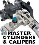 Motorcycle Master Cylinders and Calipers from ISR and Brembo