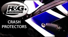 R&G Motorcycle Crash Protectors Parts Accessories Spares