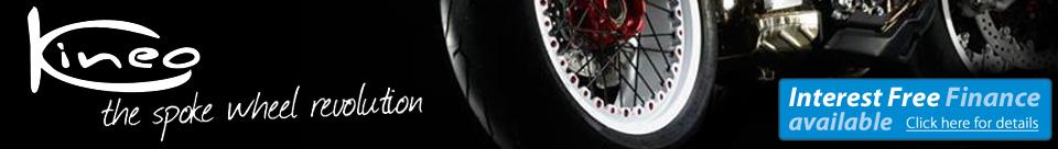 Kineo Wire Spoke Motorcycle Wheels