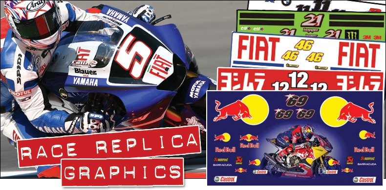 Race Replica Graphics - Sticker Kits