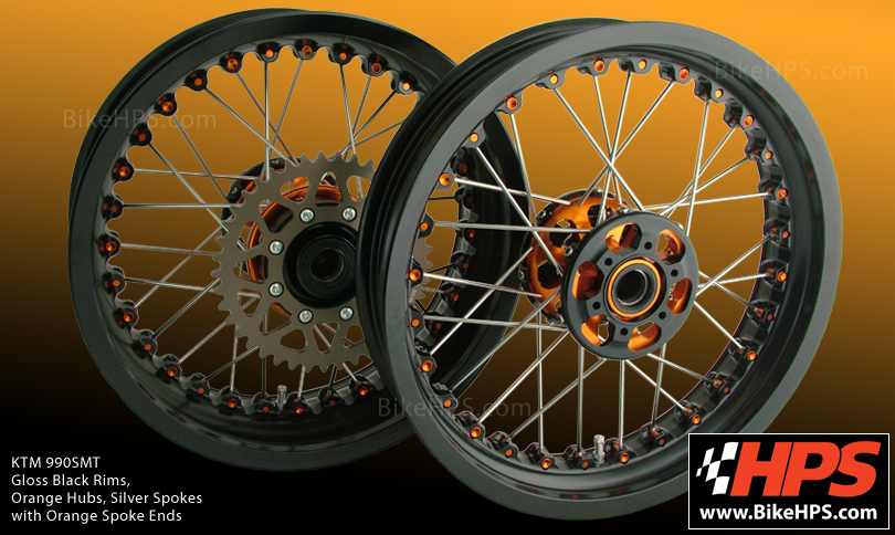 Kineo Wire Spoked Motorcycle Wheels