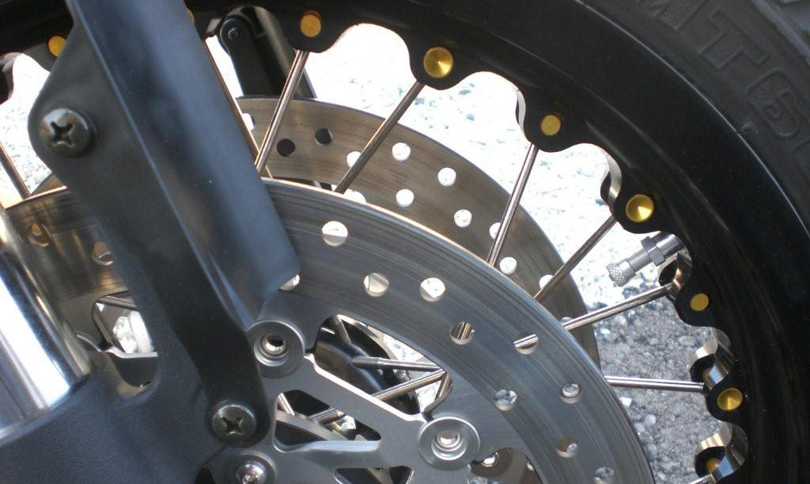 Kineo Wheel Black and Orange