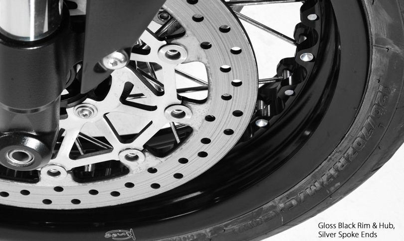 Kineo Wheels Black and Silver