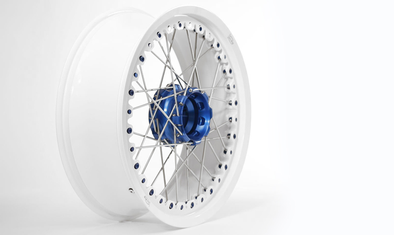 Kineo Wheels White & Blue