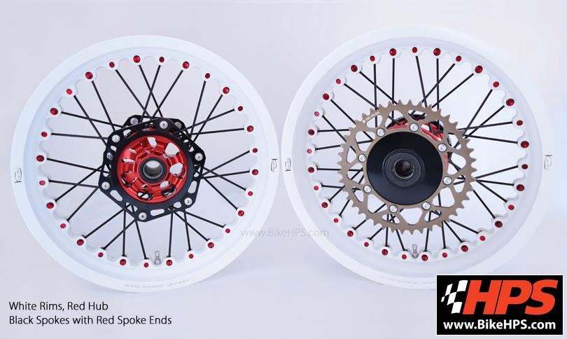 Kineo Wheels White & Red