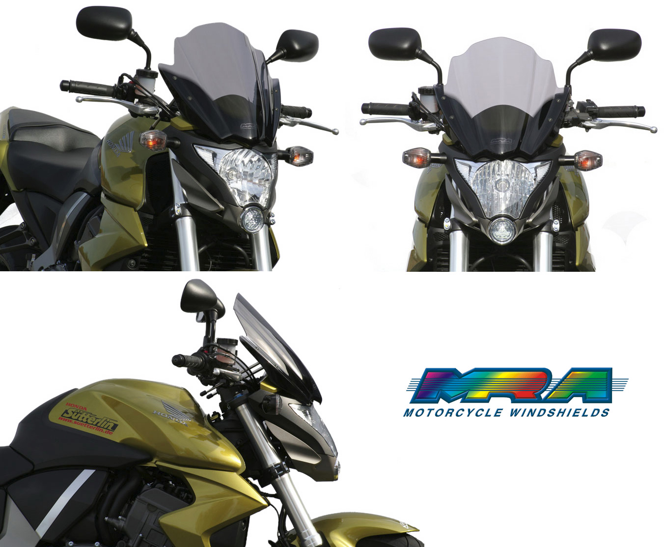 Mra Racing Screen Windshield For Naked Bikes